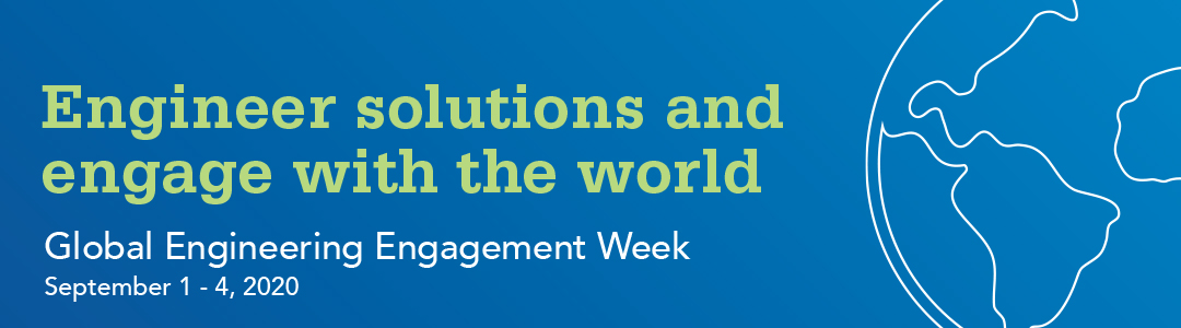 global engineering engagement week, september 1 to september 4