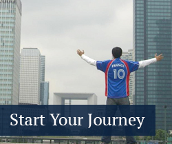 start your journey button