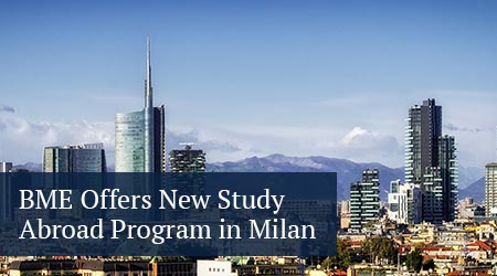 biomedical engineering offers new study abroad program in milan